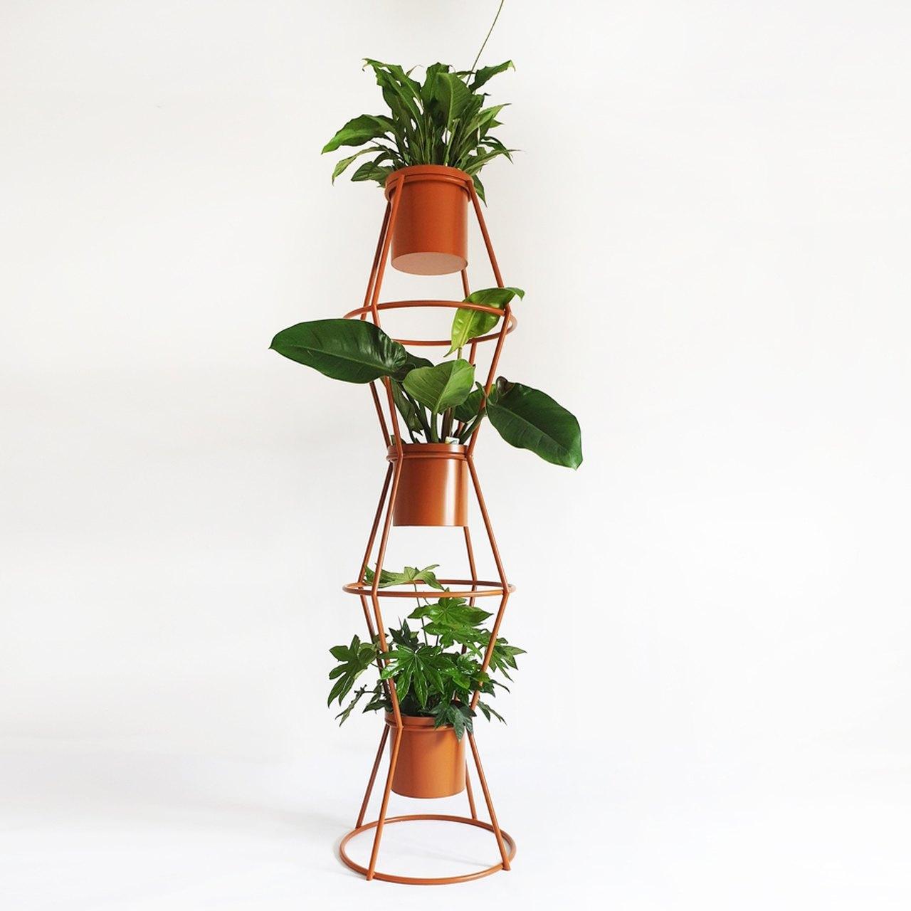 Kwietnik na trzy rośliny